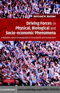 Cover Driving Forces in Physical, Biological and Socio-economic Phenomena