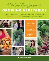 Cover The First-time Gardener: Growing Vegetables