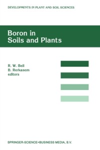 Cover Boron in Soils and Plants