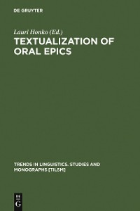 Cover Textualization of Oral Epics