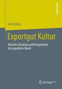 Cover Exportgut Kultur