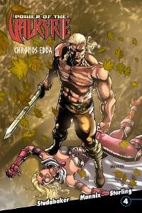 Cover Power of the Valkyrie: Chronos Edda #4