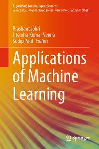 Cover Applications of Machine Learning