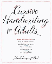 Cover Cursive Handwriting for Adults