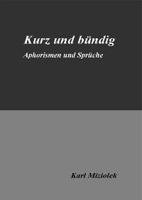 Cover Kurz und bündig