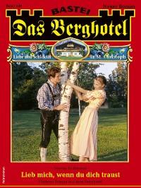 Cover Das Berghotel 240 - Heimatroman