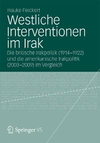 Cover Westliche Interventionen im Irak