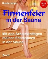 Cover Firmenfeier in der Sauna