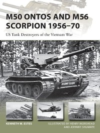 Cover M50 Ontos and M56 Scorpion 1956–70
