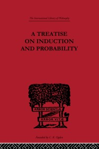 Cover Treatise on Induction and Probability