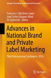 Cover Advances in National Brand and Private Label Marketing