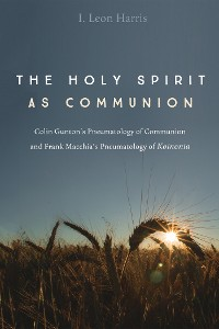 Cover The Holy Spirit as Communion