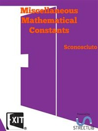 Cover Miscellaneous Mathematical Constants