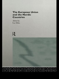 Cover European Union and the Nordic Countries