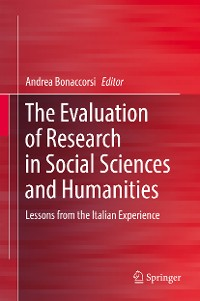 Cover The Evaluation of Research in Social Sciences and Humanities