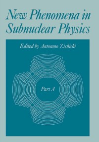 Cover New Phenomena in Subnuclear Physics