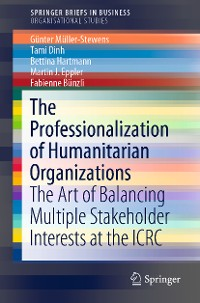 Cover The Professionalization of Humanitarian Organizations