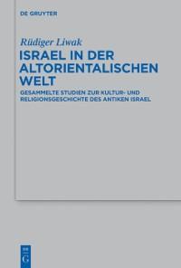 Cover Israel in der altorientalischen Welt