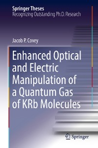 Cover Enhanced Optical and Electric Manipulation of a Quantum Gas of KRb Molecules