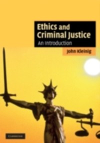 Cover Ethics and Criminal Justice