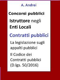 Cover Contratti pubblici - Concorso Istruttore Enti Locali