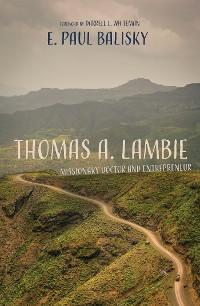 Cover Thomas A. Lambie