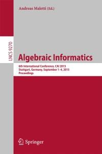 Cover Algebraic Informatics