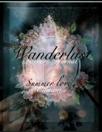 Cover The Wanderlust Literary Journal.