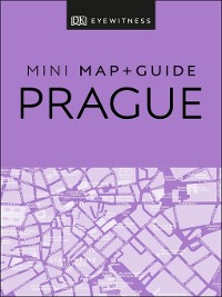 Cover DK Eyewitness Prague Mini Map and Guide