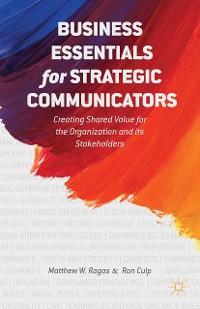 Cover Business Essentials for Strategic Communicators