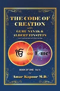 Cover The Code of Creation with Guru Nanak and Albert Einstein
