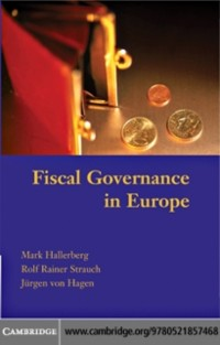 Cover Fiscal Governance in Europe