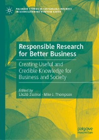 Cover Responsible Research for Better Business