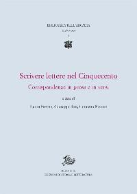 Cover  Scrivere lettere nel Cinquecento