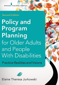 Cover Policy and Program Planning for Older Adults and People with Disabilities