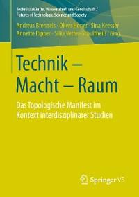 Cover Technik - Macht - Raum
