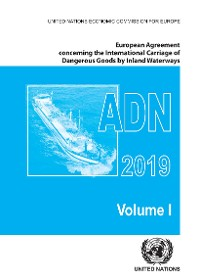 Cover European Agreement Concerning the International Carriage of Dangerous Goods by Inland Waterways (ADN) 2019