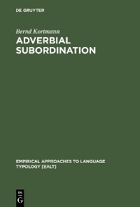 Cover Adverbial Subordination