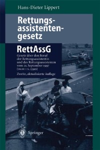 Cover Rettungsassistentengesetz (RettAssG)