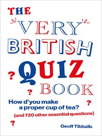 Cover The Very British Quiz Book