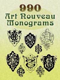 Cover 990 Art Nouveau Monograms
