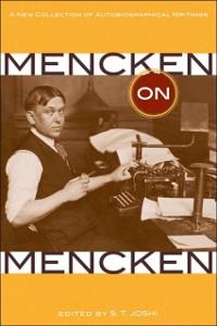 Cover Mencken on Mencken