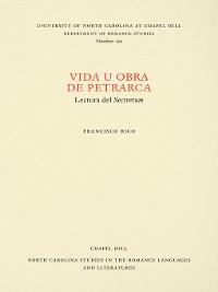 Cover Vida u obra de Petrarca