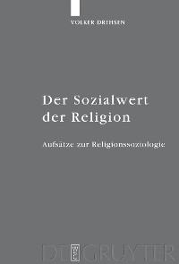 Cover Der Sozialwert der Religion