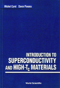 Cover Introduction to Superconductivity and High-Tc Materials