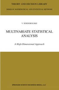 Cover Multivariate Statistical Analysis
