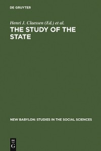 Cover The Study of the State