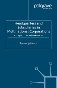 Cover Headquarters and Subsidiaries in Multinational Corporations