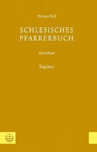 Cover Schlesisches Pfarrerbuch