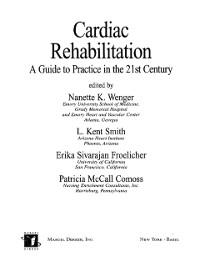 Cover Cardiac Rehabilitation